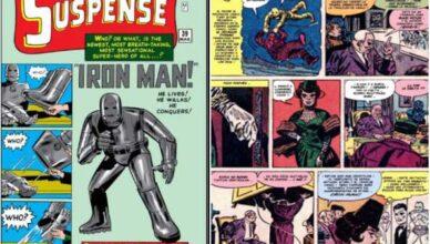 primera aparición de Black Widow en el cómic