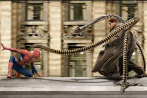 Dr Octopus vs Spiderman