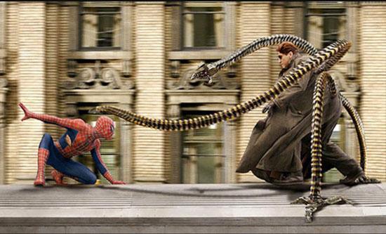Dr Octopus vs Spiderman