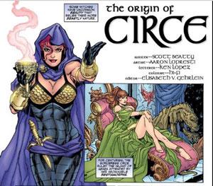 villanos de Wonder Woman circe