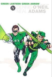 portada del cómic green lantern y green arrow