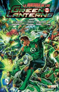 la guerra de los green lanterns es uno de los mejores cómics de green lantern