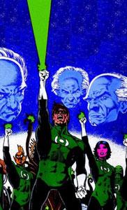 la historia de los green lantern corps es uno de los mejores cómics de Green Lantern