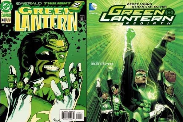 lmejores cómics de Green Lantern