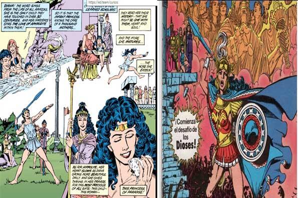 los mejores cómics de Wonder Woman