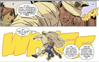 milkman man y casey peleando