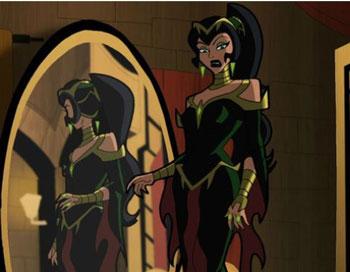 villanos de Wonder Woman marga le fay