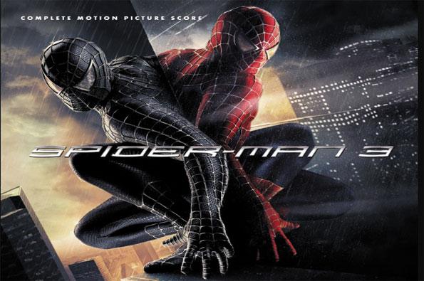 portada de spiderman 3