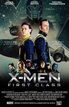 poster de x-men primera generación