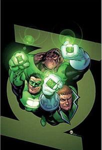 portada del cómic linterna verde recarga