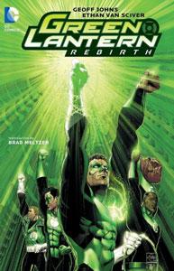 portada del cómic linterna verde renacimiento