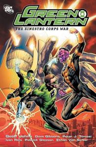la guerra de los sinestro corps es uno de mejores cómics de Green Lantern