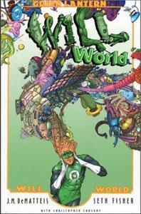 portada del cómic linterna verde willworld