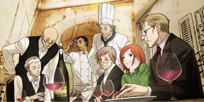 imagen de ristorante paradiso uno de los mejores animes Josei