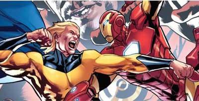 Sentry vs Iron Man