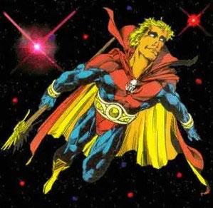 adam warlock volando