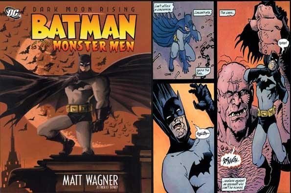 portada de Batman y los Hombres Monstruos