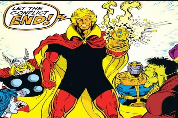 poderes y habilidades de Adam Warlock