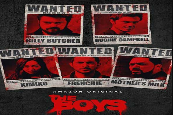 poster del trailer segunda temporada the boys