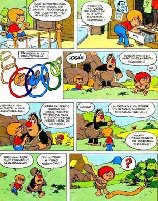 mampato es uno de los más importantes cómics latinos
