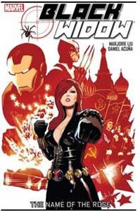 el nombre de la rosa es uno de los mejores cómics de black widow