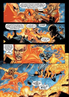 lex luthor vs larfleeze