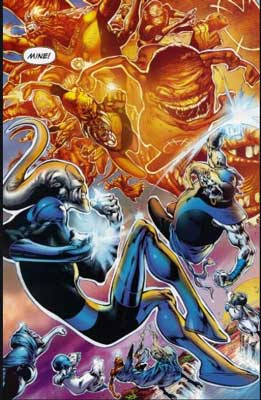 orange lantern corps vs blue lantern