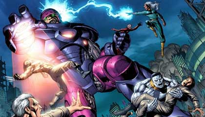 los centinelas son uno de los mejores villanos de X-men