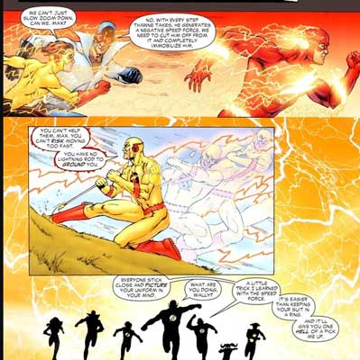 poderes y habilidades de la speed force