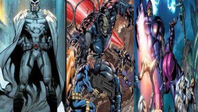 villanos de x-men o la patrulla x