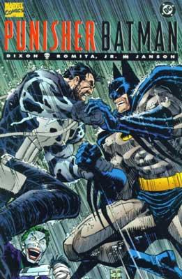punisher y batman caballeros mortales