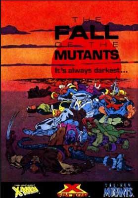 la caída de los mutantes