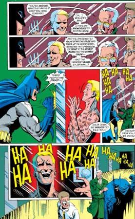 batman y zsasz en el asilo arkham
