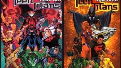 cómics de los titanes