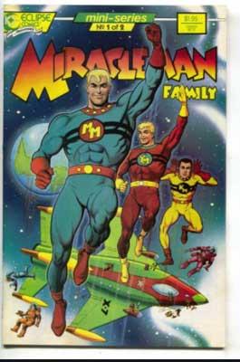 Marvelman y sus amigos