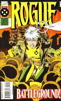 rogue es una de las tantas superhéroes femeninas más fuertes