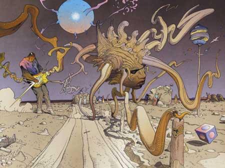 Moebius es uno de los mejores dibujantes de cómics