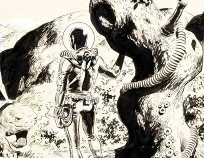 Wally Wood es uno de los mejores dibujantes de cómics
