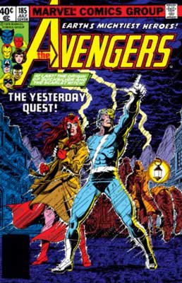 Avengers #185-187