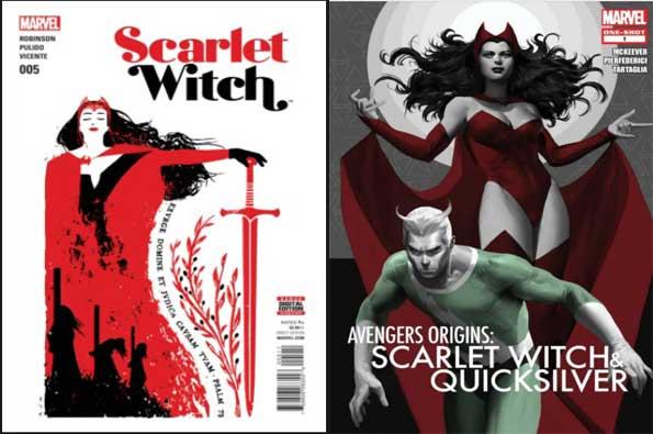 mejores cómics de scarlet witch