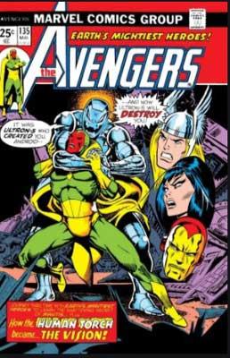 Avengers #135