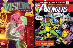 mejores cómics de Visión