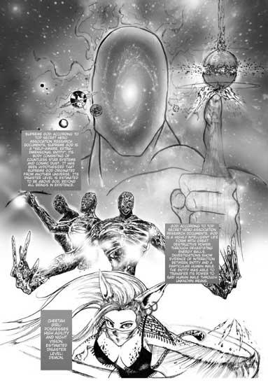 cheetah explica el origen de dios