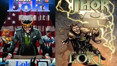 mejores cómics de Loki