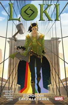 El dios que cayó a la Tierra es uno de los mejores cómics de Loki