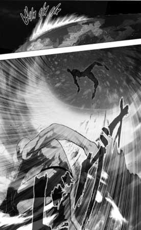 saitama derrota a dios