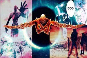 saitama vs god