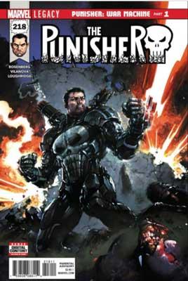 portada de The Punisher #218