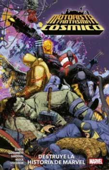 Motorista Fantasma Cósmico Destruye la Historia de Marvel