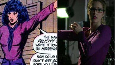 Felicity Smoak en los cómics